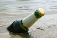 啤酒瓶寒冷 免版税图库摄影