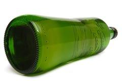 啤酒瓶绿色 库存图片