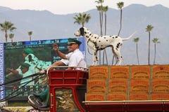 啤酒百威clydesdale著名无盖货车世界 免版税图库摄影