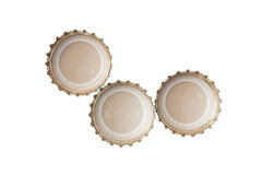 啤酒盖帽 免版税图库摄影