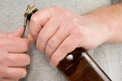 啤酒空缺数目 库存照片
