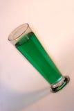 啤酒绿色 免版税库存照片