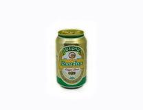 啤酒老挝人 免版税库存图片