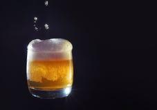 啤酒肥皂水 免版税库存照片