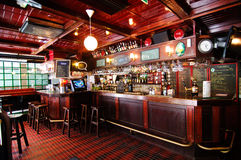 啤酒英国芬兰客栈传统的坦佩雷 免版税库存照片