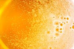 啤酒表面 免版税库存照片