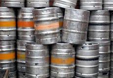 啤酒酒桶 免版税图库摄影