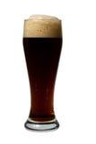 啤酒黑暗杯子 免版税库存图片