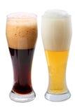 啤酒黑暗贮藏啤酒 库存图片