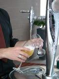 啤酒龙头放置 免版税库存照片