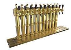 啤酒轻拍行  皇族释放例证
