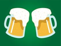 啤酒 皇族释放例证