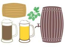 啤酒 库存例证