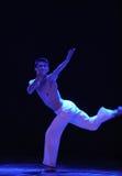 啼声现代舞蹈 库存图片