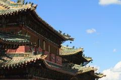 喀喇昆仑寺庙  图库摄影
