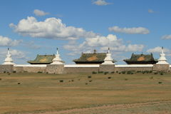 喀喇昆仑寺庙  免版税库存图片