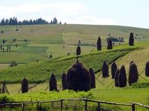 喀尔巴阡山脉的横向 免版税库存图片