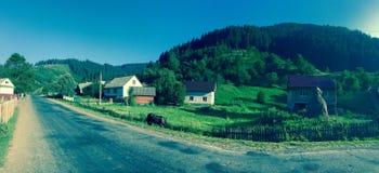喀尔巴阡山脉的乌克兰 免版税库存照片