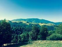 喀尔巴阡山脉的乌克兰 库存照片