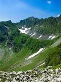 喀尔巴阡山脉的土坎罗马尼亚 免版税库存照片