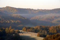 喀尔巴阡山脉的脚跟和山06 库存图片