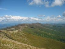 喀尔巴阡山脉的风景 库存照片