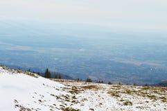 喀尔巴阡山脉的绝对和全景 免版税库存图片
