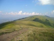 喀尔巴阡山脉Borzhava 免版税库存图片