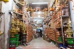 喀山义卖市场,在伊朗 库存照片