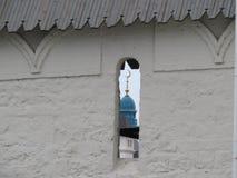 喀山克里姆林宫喀山,俄罗斯的看法 免版税库存图片