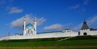 喀山克里姆林宫,喀山Rusia 库存照片