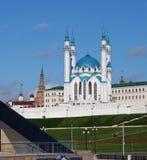 喀山克里姆林宫,喀山Rusia 免版税库存图片