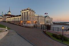 喀山克里姆林宫 喀山市,俄罗斯 免版税图库摄影