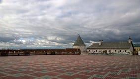 喀山克里姆林宫 免版税库存图片