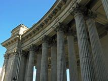喀山大教堂在圣彼得堡 俄国 免版税图库摄影