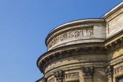 喀山大教堂门面  免版税库存图片