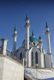 喀山清真寺 免版税库存照片