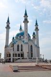 喀山清真寺qolsharif俄国 图库摄影