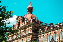 喀山联邦大学在市Yelabuga 免版税库存照片