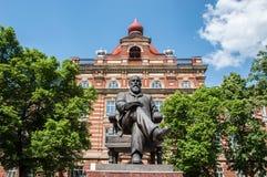 喀山联邦大学在市Yelabuga 库存图片