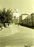 喀山街市1962年 图库摄影