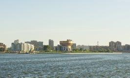 喀山,俄罗斯,现代大厦 库存照片