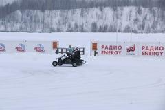 喀山,俄罗斯- 2017年12月23日:冬天季节的开头 免版税库存照片
