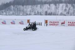 喀山,俄罗斯- 2017年12月23日:冬天季节的开头 库存照片
