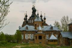 喀山Amvrosievsky沙漠(在shamordino女修道院在俄罗斯的卡卢加州地区 免版税库存图片