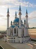 喀山kul清真寺俄国sharif 免版税库存照片