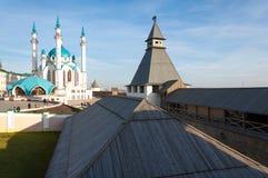 喀山kul清真寺sharif 俄国 图库摄影