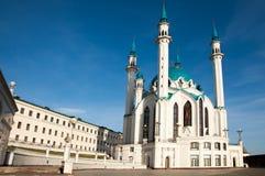 喀山kul清真寺sharif 俄国 免版税库存图片