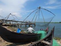 喀拉拉死水,印度 库存照片
