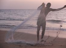 喀拉拉死水,印度 免版税库存图片